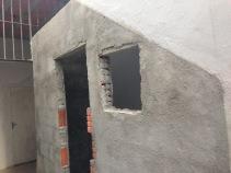 bathroom under steps 1